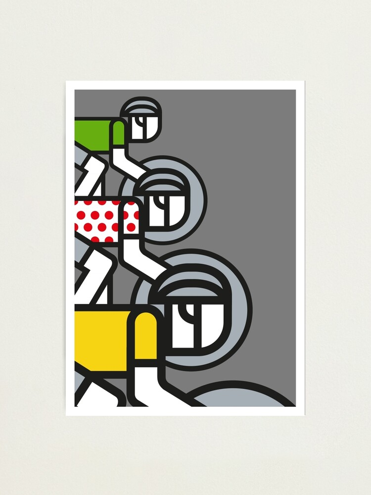 Alternate view of Peloton Photographic Print