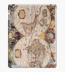 World map cases iPad Case/Skin