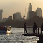 Life By The River Thames, London by wiggyofipswich