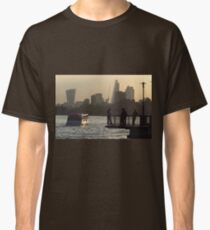 Life By The River Thames, London Classic T-Shirt