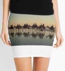 Cable Beach Camel Reflections (View Large) Mini Skirt