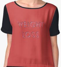 Weight Loss Chiffon Top