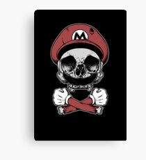 Mario Death Squad Canvas Print