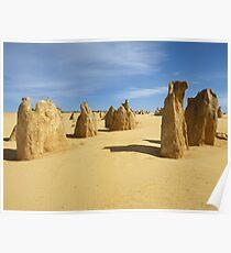 Pinnacles Desert Poster