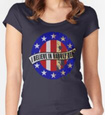 I Believe In Harvey Dent Women's Fitted Scoop T-Shirt