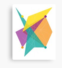 Abstract Rectangle Canvas Print