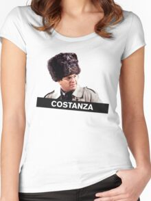 Costanza's Russian Hat Women's Fitted Scoop T-Shirt