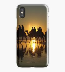 Cable Beach Camels at Sunset iPhone Case