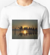 Cable Beach Camels at Sunset T-Shirt