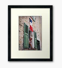 Life in France Framed Print