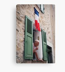 Life in France Canvas Print