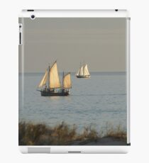 Twin Pearl Luggers iPad Case/Skin