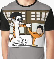Calvin And Hobbes : Kungfu Master Graphic T-Shirt