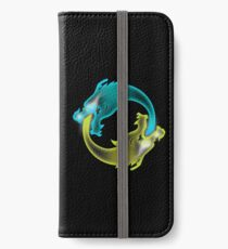 Two Dragons, two Brothers iPhone Wallet/Case/Skin