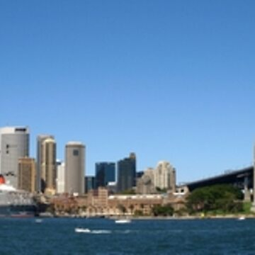 Sydney Harbour Panoramic by CassarrArt