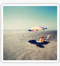 Beach Day Sticker