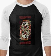 Blossoms Band Charlemagne Album Cover Men's Baseball ¾ T-Shirt