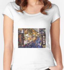 Rainy Melbourne Women's Fitted Scoop T-Shirt