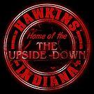 Hawkins - Home of the Upside Down. by robotrobotROBOT