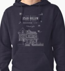 Stars Hollow Collage Pullover Hoodie
