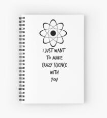 "Orphan Black ""Crazy Science"" Spiral Notebook"