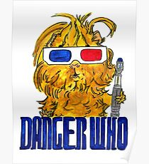 Danger Who, the Tenth Guinea Pig Doctor Poster