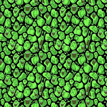 Fifty shades of slime by ikerpazstudio