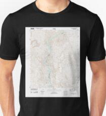 USGS TOPO Map Arizona AZ Willow Beach 20111027 TM T-Shirt