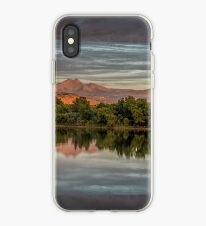 Twin Peaks And Golden Ponds iPhone Case