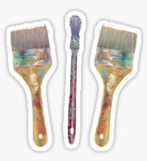 Artist Brushes Sticker