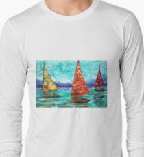 Sailboat Dreams Long Sleeve T-Shirt