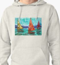 Sailboat Dreams Pullover Hoodie