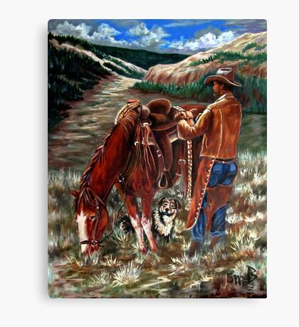High Country Morning Canvas Print