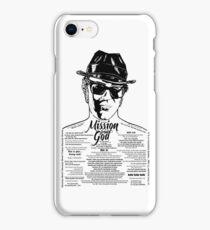 Elwood Blues Brothers tattooed 'Dry White Toast' iPhone Case/Skin