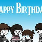 Beatles Birthday by CharlieeJ