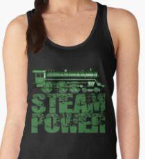 Steam Power Vintage Steam Loco Women's Tank Top