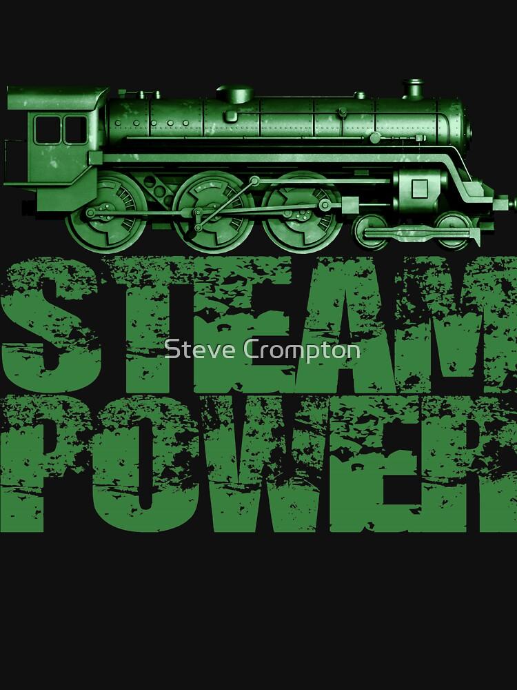 Steam Power Vintage Steam Loco by SC001