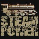 Steam Power Vintage Steam Engine by Steve Crompton