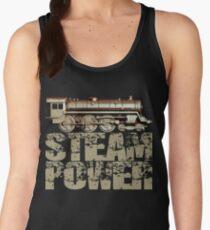 Steam Power Vintage Steam Engine Women's Tank Top