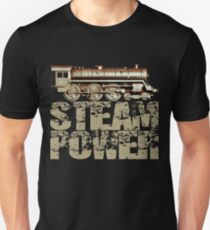 Steam Power Vintage Steam Engine T-Shirt