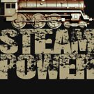 Steam Power Vintage Steam Engine by Steve Crompton