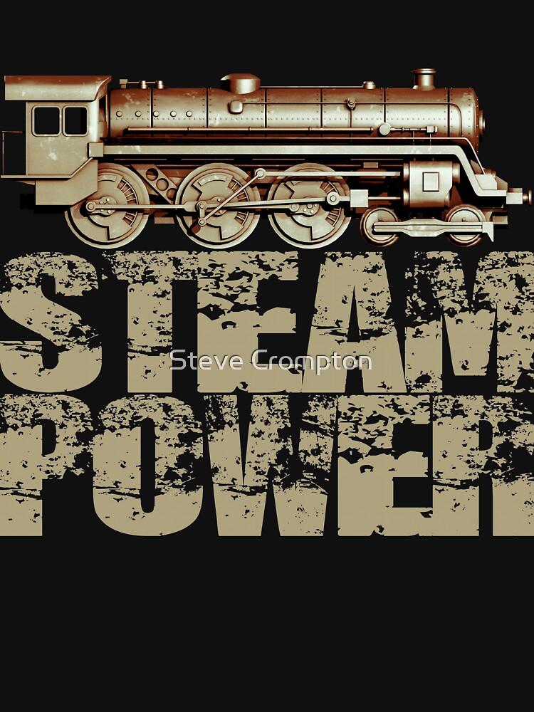 Steam Power Vintage Steam Engine by SC001