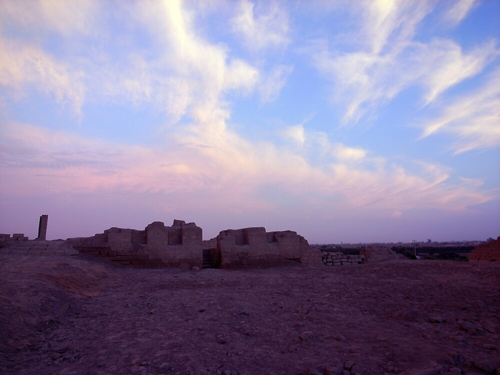 Inca ruins near Chincha by Elaine Stevenson