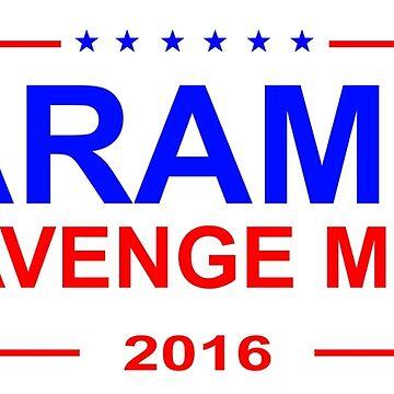 Harambe 2016 - sticker by lumb
