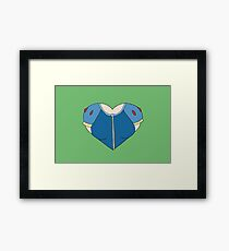 A Heart as White as Snow Framed Print