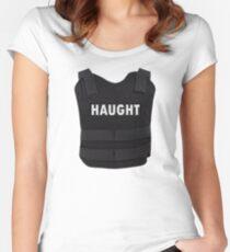 Haught Bullet Proof Vest - Wynonna Earp Women's Fitted Scoop T-Shirt