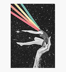 Rainbow dancer Photographic Print