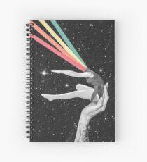 Rainbow dancer Spiral Notebook
