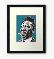 Muddy Waters Delta Blues Musician Framed Print