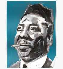 Muddy Waters Delta Blues Musician Poster
